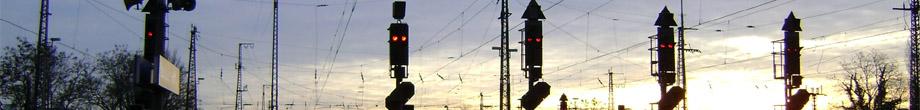 Signals at Oberhausen main station (D)